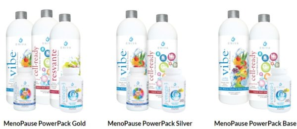 Eniva Menopause power pack 3 level screen shot