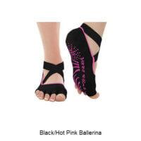 Black/Hot Pink Ballerina