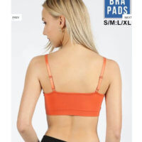 SPORTS BRA with Lattice Bralette
