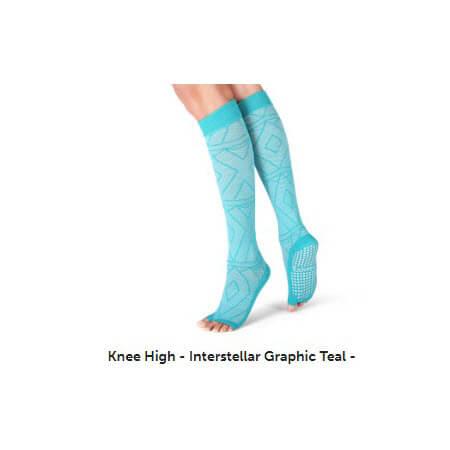 3X3Fit Knee High Grip Socks