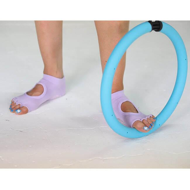 3X3FIT Toe Free Grip Socks