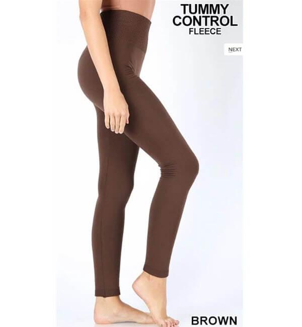 Tummy Control: Brown