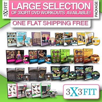 DVD Selection for 3X3 Fit