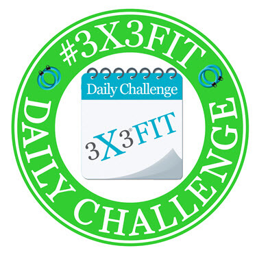 3X3 FIT Daily Challenge Logo