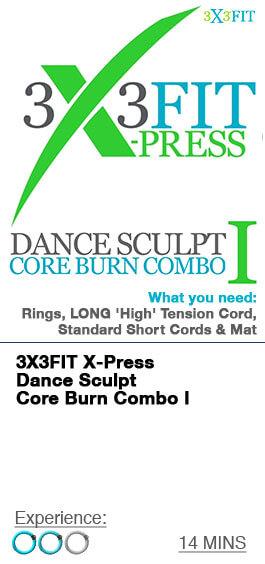 Xpress Dance Sculpt Core Burn Combo - 1