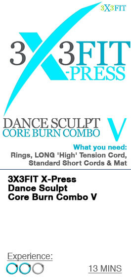 Xpress Dance Sculpt Core Burn Combo - 5