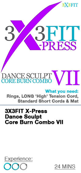 Xpress Dance Sculpt Core Burn Combo - 7