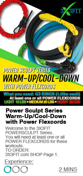 POWER SCULPT SERIES WITH POWER FLEXCORDS: WARM-UP/COOL DOWN Image