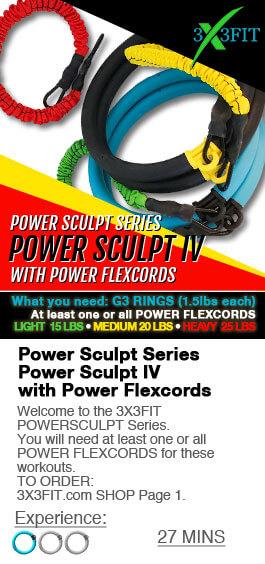 POWER SCULPT SERIES WITH POWER FLEXCORDS: POWER SCULPT IV